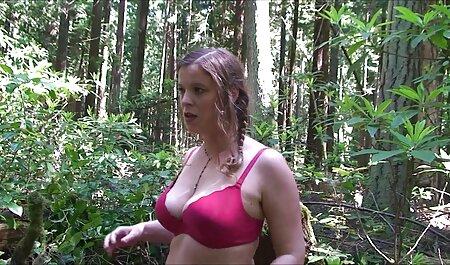 Rubia Tuvan divertido Georgia Chica Con medias de veteranas cerdas nylon tomar las mejillas Con Pose 69